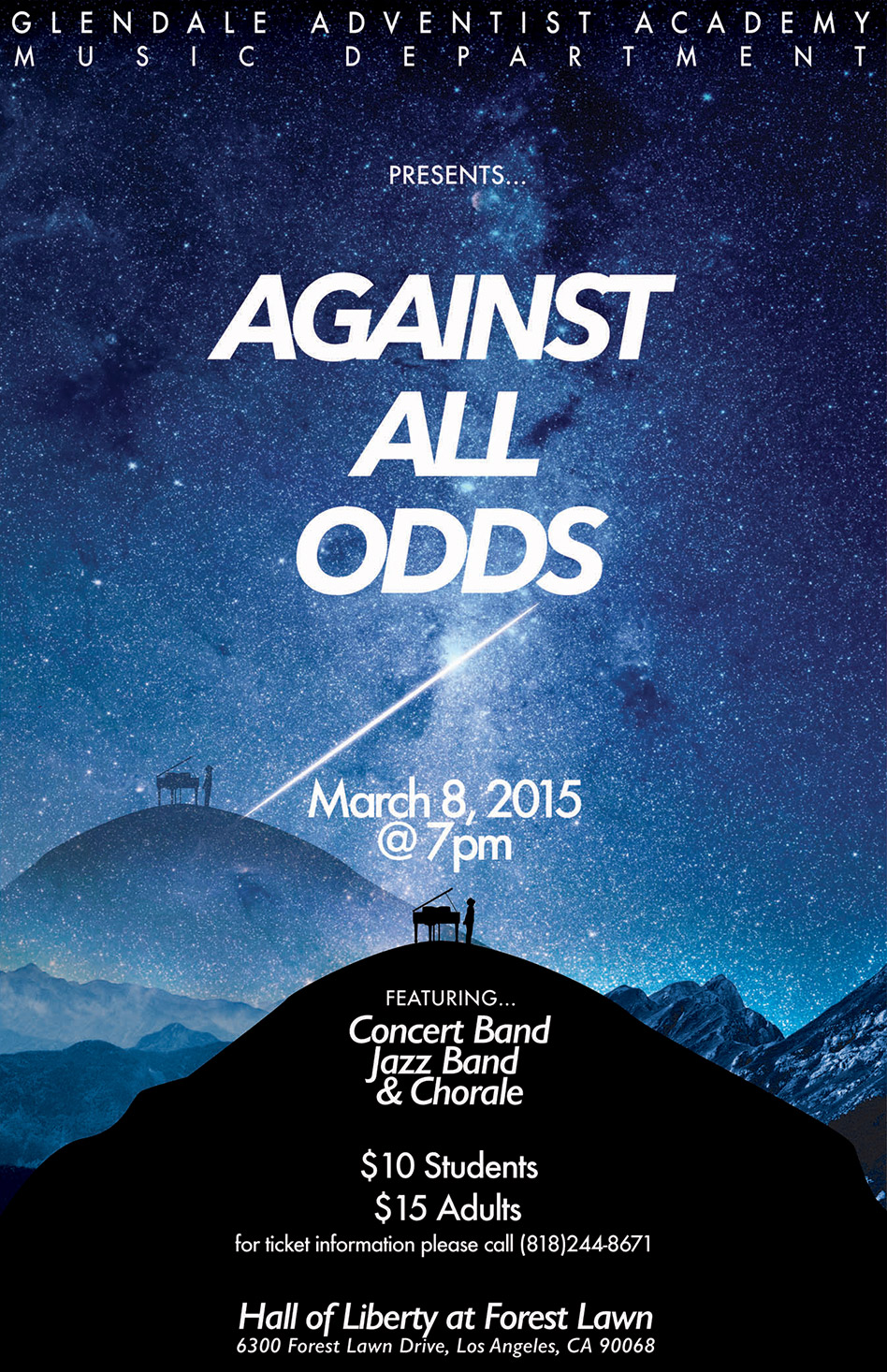 Against All Odds Flyer